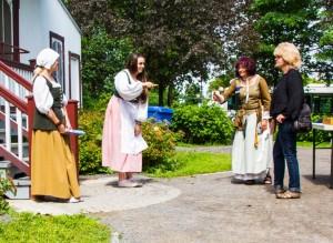 Visiteurs Fêtes de Nouvelle-France